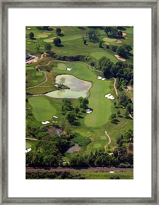 Philadelphia Cricket Club Militia Hill Golf Course 3rd Hole Framed Print by Duncan Pearson