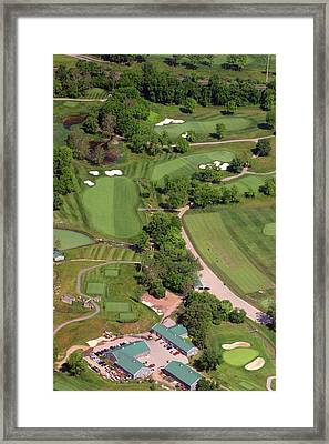 Philadelphia Cricket Club Militia Hill Golf Course 4th Hole Framed Print by Duncan Pearson