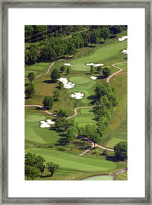 Philadelphia Cricket Club Militia Hill Golf Course 5th Hole Framed Print by Duncan Pearson