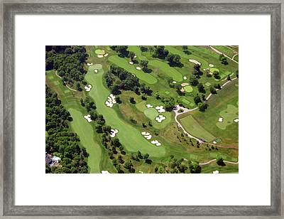 Philadelphia Cricket Club Militia Hill Golf Course 6th Hole 2 Framed Print by Duncan Pearson