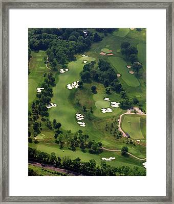 Philadelphia Cricket Club Militia Hill Golf Course 6th Hole Framed Print by Duncan Pearson