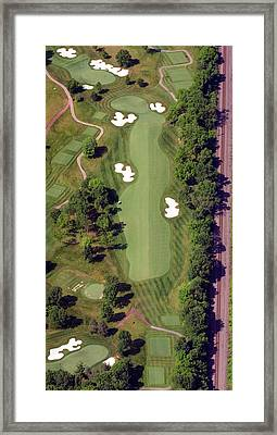 Philadelphia Cricket Club Militia Hill Golf Course 8th Hole Framed Print by Duncan Pearson