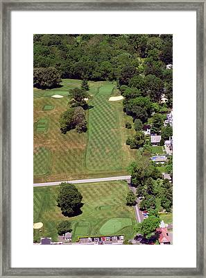 Philadelphia Cricket Club St Martins Golf Course 1st Hole 415 W Willow Grove Avenue Phila Pa 19118 Framed Print