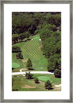 Philadelphia Cricket Club St Martins Golf Course 4th Hole 415 W Willow Grove Ave Phila Pa 19118 Framed Print