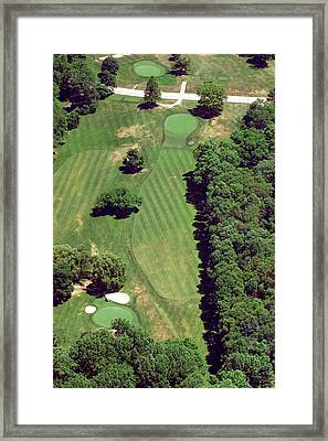 Philadelphia Cricket Club St Martins Golf Course 6th Hole 415 West Willow Grove Ave Phila Pa 191118 Framed Print
