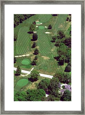 Philadelphia Cricket Club St Martins Golf Course 7th Hole 415 W Willow Grove Ave Phila Pa 19118 Framed Print by Duncan Pearson