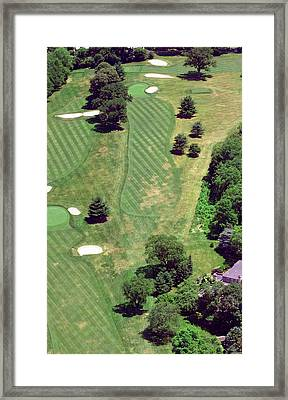Philadelphia Cricket Club St Martins Golf Course 8th Hole 415 W Willow Grove Ave Phila Pa 19118 Framed Print by Duncan Pearson