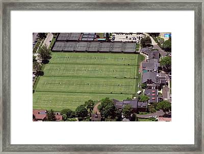 Philadelphia Cricket Club Us Jr International Grass Court Championships Framed Print