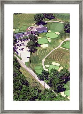 Philadelphia Cricket Club Wissahickon Golf Course 10th Hole Framed Print by Duncan Pearson