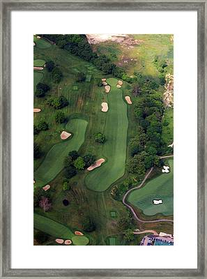 Philadelphia Cricket Club Wissahickon Golf Course 12th Hole Framed Print by Duncan Pearson