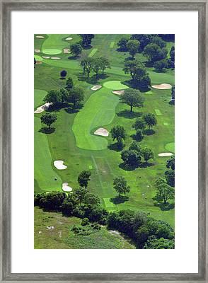 Philadelphia Cricket Club Wissahickon Golf Course 13th Hole Framed Print by Duncan Pearson