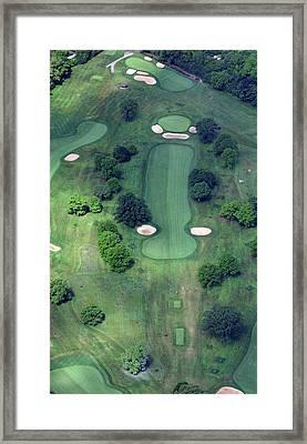 Philadelphia Cricket Club Wissahickon Golf Course 14th Hole Framed Print by Duncan Pearson