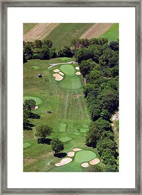 Philadelphia Cricket Club Wissahickon Golf Course 15th Hole Framed Print by Duncan Pearson