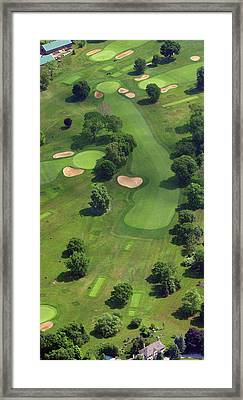 Philadelphia Cricket Club Wissahickon Golf Course 17th Hole Framed Print by Duncan Pearson