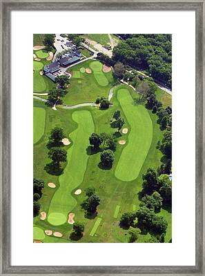 Philadelphia Cricket Club Wissahickon Golf Course 18th Hole Framed Print by Duncan Pearson