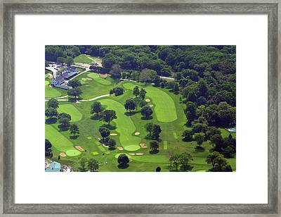 Philadelphia Cricket Club Wissahickon Golf Course 1st And 18th Holes Framed Print