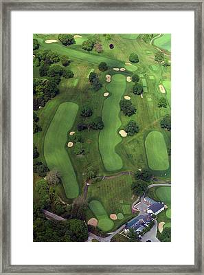 Philadelphia Cricket Club Wissahickon Golf Course 1st Hole Framed Print by Duncan Pearson