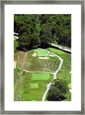 Philadelphia Cricket Club Wissahickon Golf Course 3rd Hole Framed Print by Duncan Pearson