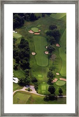 Philadelphia Cricket Club Wissahickon Golf Course 5th Hole Framed Print