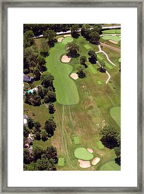Philadelphia Cricket Club Wissahickon Golf Course 6th Hole Framed Print by Duncan Pearson