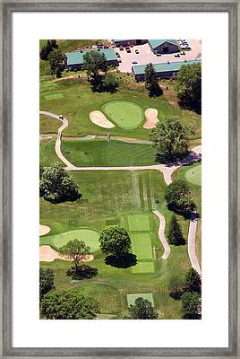 Philadelphia Cricket Club Wissahickon Golf Course 8th Hole Framed Print by Duncan Pearson