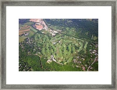 Philadelphia Cricket Club Wissahickon Golf Course Flourtown Framed Print