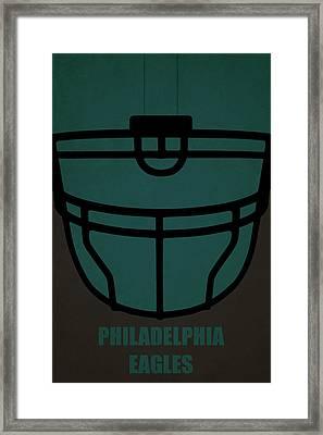 Philadelphia Eagles Helmet Art Framed Print