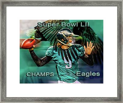 Philadelphia Eagles - Super Bowl Champs Framed Print