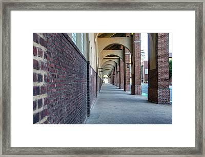Philadelphia - Franklin Field Archway Framed Print by Bill Cannon