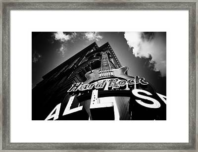 Philadelphia Hard Rock Cafe  Framed Print by Bill Cannon