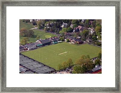 Philadelphia International Cricket Festival Pcc Framed Print by Duncan Pearson