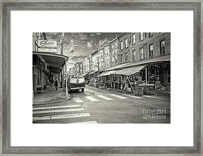 Philadelphia Italian Market  1 Framed Print by Jack Paolini