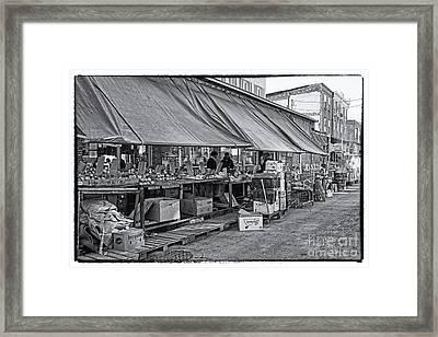 Philadelphia Italian Market 3 Framed Print by Jack Paolini