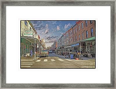 Philadelphia Italian Market 5 Framed Print