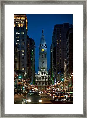 Philadelphia Framed Print by John Greim