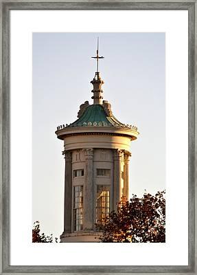 Philadelphia Merchant's Exchange Tower Framed Print