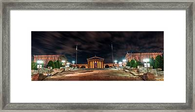 Framed Print featuring the photograph Philadelphia Museum Of Art by Marvin Spates