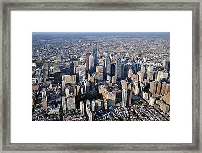 Philadelphia O469 Framed Print by Duncan Pearson
