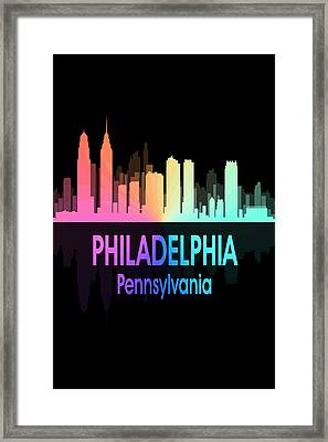 Philadelphia Pa 5 Vertical Framed Print