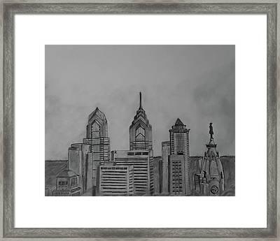 Philadelphia, Pa Framed Print