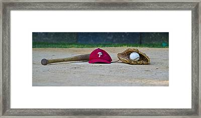 Philadelphia Phillies Framed Print by Bill Cannon
