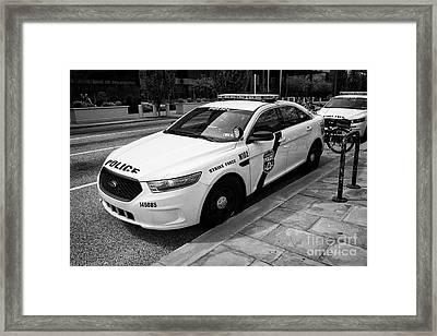 Philadelphia Police Narcotics Strike Force Police Cruiser Vehicle Usa Framed Print