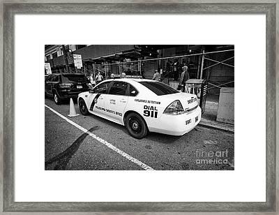 Philadelphia Sheriffs Office Chevy Impala Police Cruiser K-9 Unit Explosives Detection Vehicle Usa Framed Print