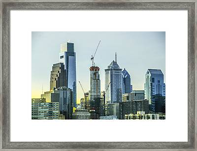 Philadelphia - Still Growing Framed Print