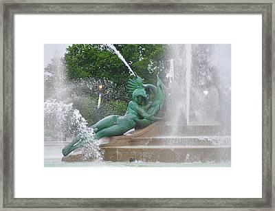Philadelphia - Swann Memorial Fountain - Logan Square Framed Print
