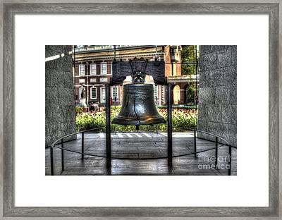 Philadelphia's Liberty Bell Framed Print by Mark Ayzenberg