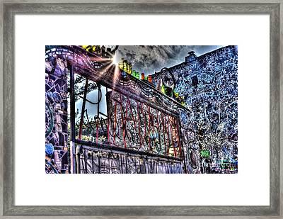 Philadelphia's Magic Gardens Framed Print by Mark Ayzenberg