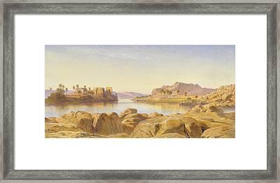 Philae, Egypt Framed Print