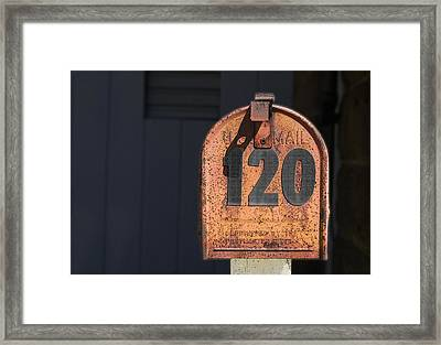 Philately Framed Print by Paul Wear
