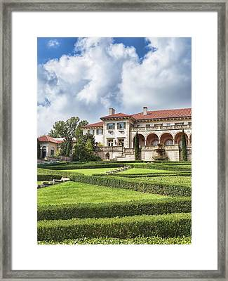 Philbrook Museum Tulsa Oklahoma Photograph  Framed Print by Ann Powell